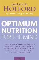 Optimum Nutrition For The Mind (Paperback)