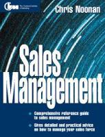 Sales Management (Paperback)