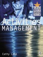Activities Management (Paperback)