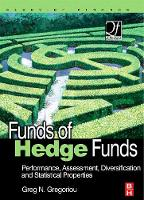 Funds of Hedge Funds: Performance, Assessment, Diversification, and Statistical Properties - Quantitative Finance (Hardback)
