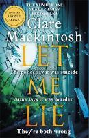 Let Me Lie: The Number One Sunday Times Bestseller (Paperback)