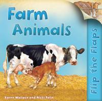 Flip the Flaps: Farm Animals (Paperback)