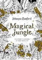 Magical Jungle: 36 Postcards to Colour and Send (Paperback)