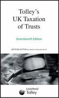 Tolley's UK Taxation of Trusts (Paperback)