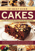 101 Best-ever Cakes: A Card Deck of Delicious Step-by-step Recipes (Paperback)