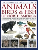 Illustrated Encyclopedia of Animals, Birds and Fish of North America (Hardback)