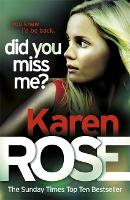 Did You Miss Me? (The Baltimore Series Book 3) (Paperback)