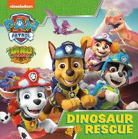 Paw Patrol Picture Book - Dinosaur Rescue (Paperback)