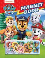 Paw Patrol Magnet Book (Hardback)