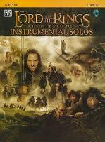 Lord of the Rings Instrumental Solos: Alto Sax