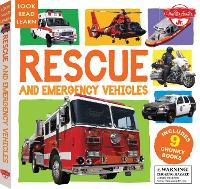 Rescue and Emergency Vehicles: Includes 9 Chunky Books - Look, Read, Learn (Hardback)