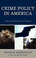 Crime Policy in America: Laws, Institutions, and Programs (Hardback)