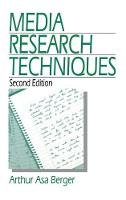 Media Research Techniques (Hardback)
