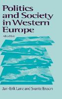 Politics and Society in Western Europe (Hardback)