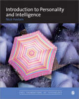 Introduction to Personality and Intelligence - Sage Foundations of Psychology Series (Paperback)