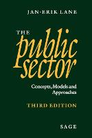 The Public Sector: Concepts, Models and Approaches (Paperback)