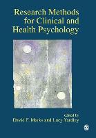 Research Methods for Clinical and Health Psychology (Paperback)