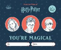 Harry Potter: You're Magical: A Fill-In Book (Hardback)