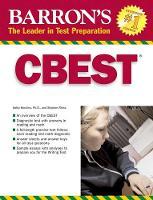 CBEST: California Basic Educational Skills Test - Barron's Test Prep CA (Paperback)