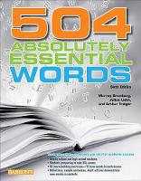 504 Absolutely Essential Words (Paperback)