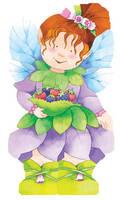 Fairy - Mini People Shape Books (Board book)