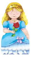 Princess - Mini People Shape Books (Board book)