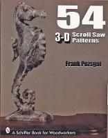 54 3-D Scroll Saw Patterns (Paperback)