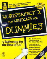 Wordperfect 8 for Windows For Dummies (Paperback)