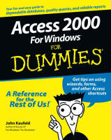 Access 2000 for Windows For Dummies (Paperback)