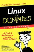 Linux For Dummies Quick Reference (Paperback)