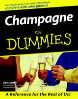 Champagne For Dummies (Paperback)