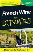 French Wine For Dummies (Paperback)
