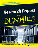Research Papers For Dummies (Paperback)