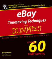 eBay Timesaving Techniques For Dummies (Paperback)