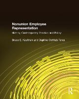Nonunion Employee Representation: History, Contemporary Practice and Policy (Hardback)