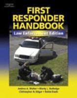 First Responder Handbook (Paperback)