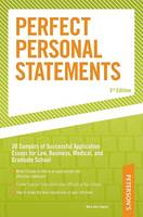 Perfect Personal Statements, 3 (Paperback)