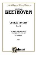 Choral Fantasy, Op. 80: Orch. (Book)
