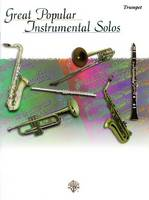Great Popular Instrumental Solos: Trumpet - Great popular instrumental solos