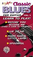 Songxpress: Classic Blues for Guitar - Vol 3 (Paperback)
