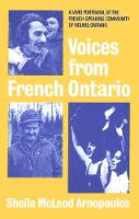 Voices from French Ontario (Hardback)