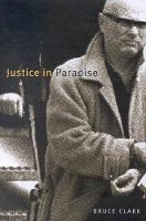 Justice in Paradise - McGill-Queen's Native and Northern Series (Hardback)