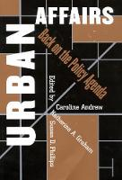 Urban Affairs: Back on the Policy Agenda (Paperback)
