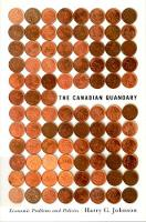 The Canadian Quandary - Carleton Library Series (Hardback)