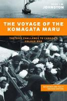 The Voyage of the Komagata Maru: The Sikh Challenge to Canada's Colour Bar, Expanded and Fully Revised Edition (Paperback)