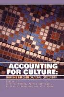 Accounting for Culture: Thinking Through Cultural Citizenship - Governance Series (Paperback)