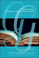 Canada's Best | La grande litterature du Canada: An Anthology | Une anthologie (Hardback)