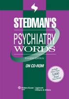 Stedman's Psychiatry Words on CD-ROM