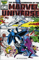 Essential Official Handbook Of The Marvel Universe - Deluxe Edition Volume 2 - Essential (Paperback)