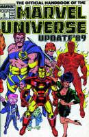 Essential Official Handbook Of The Marvel Universe - Update 89 Volume 1 (Paperback)